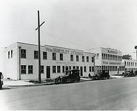 1920 William Horsley Studios on Sunset Blvd.