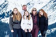 Fotosessie met de koninklijke familie in Lech /// Photoshoot with the Dutch royal family in Lech .<br /> <br /> Koningin Maxima, Koning Willem Alexander, Prinses Amalia, Prinses Alexia en Prinses Ariane  ///// Queen Maxima, King Willem Alexander, Princess Amalia, Princess Alexia and Princess Ariane