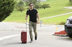August 28, 2017 - ZüRich, Schweiz - Zürich, 28.08.2017, Fussball - Besammlung Schweizer Nationalmannschaft, Admir Mehmedi kommt zur Besammlung der Schweizer Nationalmannschaft. (Credit Image: © Melanie Duchene/EQ Images via ZUMA Press)