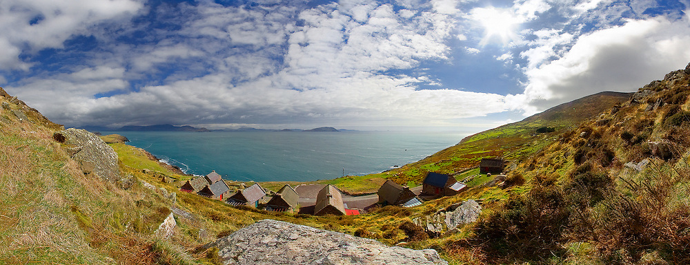 Cill Rialaig Cottages, Ballinskelligs, County Kerry, Ireland