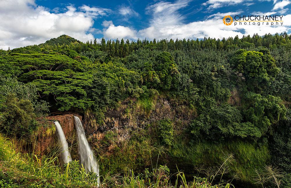 Wailua Falls in Kauai, Hawaii, USA