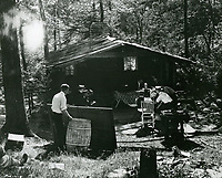 1921 Filming The Passionate Pilgrim at Famous Players Lasky Studios in Hollywood
