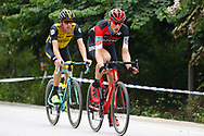 Stefan Kung (SUI - BMC), Pascal Eenkhoorn (NED - Team LottoNL - Jumbo) during the Tour of Guangxi 2018, stage 4 cycling race, Nanning - Nongla Scenic Area (152,2 km) on October 19, 2018 in Nongla, China - Photo Luca Bettini / BettiniPhoto / ProSportsImages / DPPI