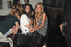 Left to right, LADY NATASHA RUFUS-ISAACS and ELIZABETH ACLAND at a party to launch the new upstairs area of Mamilanji, 107 Kings Road, London SW3 on 19th April 2007.<br /> <br /> NON EXCLUSIVE - WORLD RIGHTS