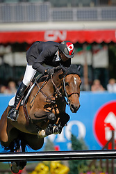 Lamaze Eric (CAN) - Take Off<br /> Akita Drilling Cup<br /> Spruce Meadows Masters - Calgary 2009<br /> © Dirk Caremans