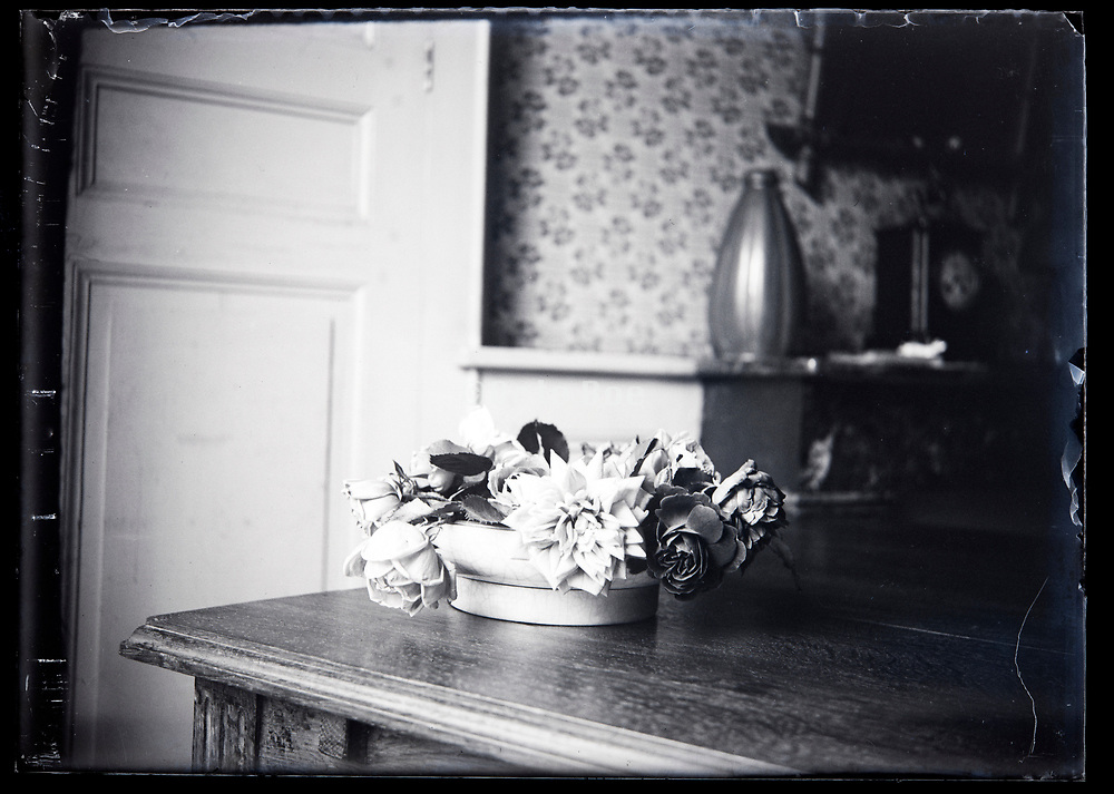 still life with flowers circa 1920s