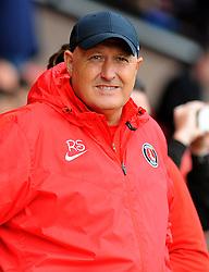 Charlton Athletic manager Russell Slade looks on prior to kick off  - Mandatory by-line: Nizaam Jones/JMP - 20/08/2016 - FOOTBALL - Banks Stadium - Walsall, England- Walsall v Charlton Athletic  - Sky Bet League One