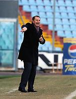 "Gianni De Biasi, allenatore Udinese.<br /> Udine, 7/02/2010 Stadio ""Friuli""<br /> Udinese-Napoli.<br /> Campionato Italiano Serie A 2009/2010<br /> Foto Nicolò Zangirolami Insidefoto"