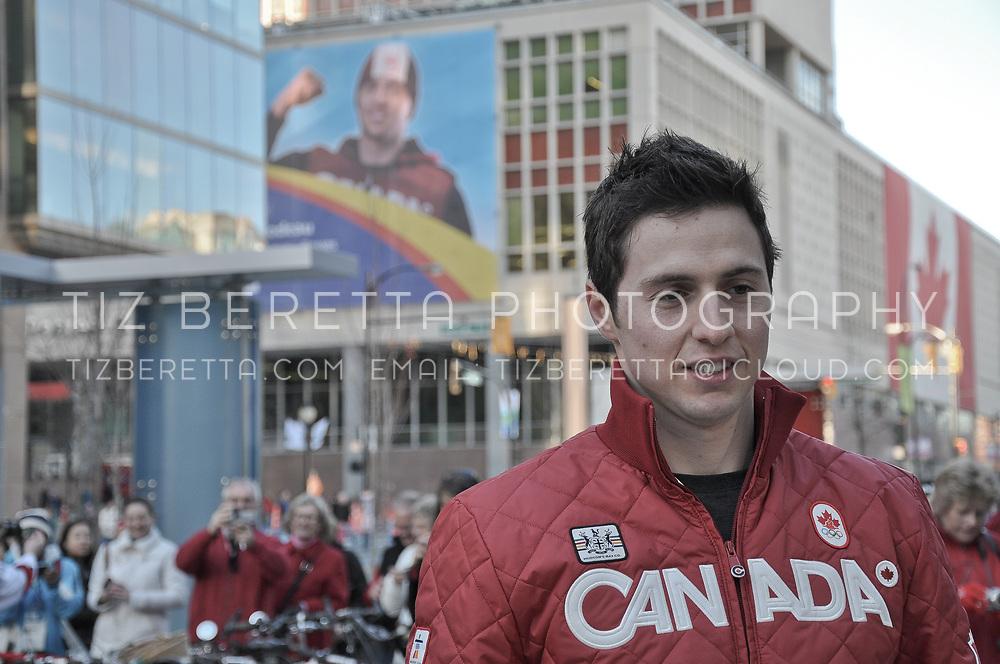 Canadian Olympic gold medallist, Alex Bilodeau