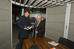 Pictured: Kevin Stewart was shown around the development by the project manager of Greenside House, Chris Kerr.<br /> <br /> When visiting Greenside House, a newly redevolped 36,000 square feet of Grade A office accommodation, in Edinburgh today  Housing minister Kevin Stewart unveiled details of an GBP8.9 million award to refurbish office space.<br /> <br /> Ger Harley | EEm 28 February 2017