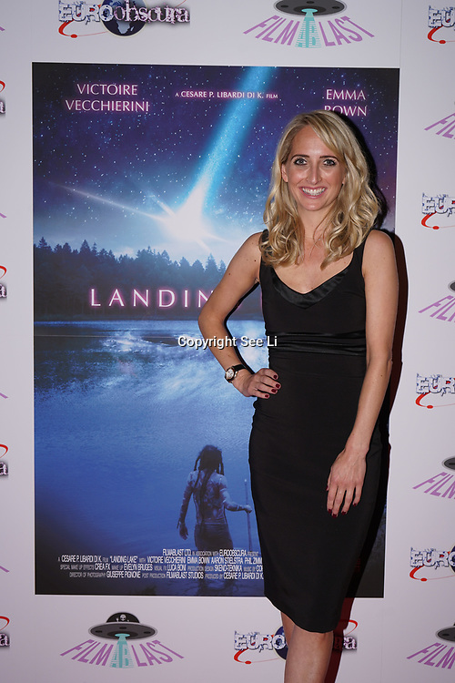 London, England, UK. 14th September 2017.Kiri Bloore is a TV Presenter attend the Landing Lake Film Premiere at Empire Haymarket,London, UK.