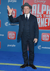 November 5, 2018 - Hollywood, California, U.S. - John C. Reilly arrives for the 'Ralph Breaks the Internet' World Premiere at the El Capitan theater. (Credit Image: © Lisa O'Connor/ZUMA Wire)