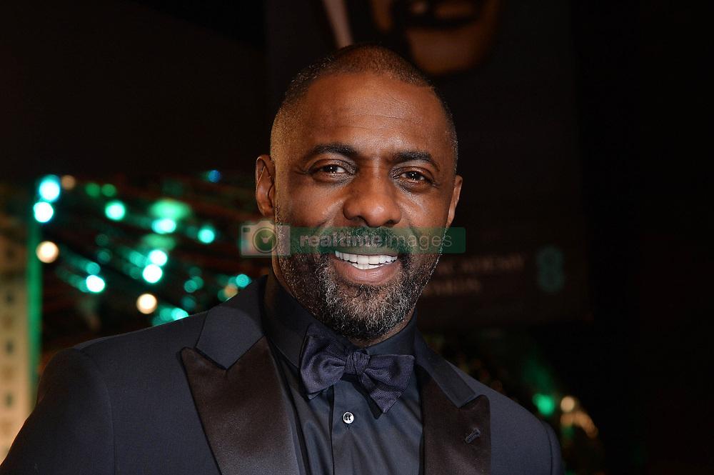 Feb. 14, 2016 - London, England, United Kingdom - 2/14/16.Idris Elba at The EE British Academy Film Awards..(London, England)  (Credit Image: © Starmax/Newscom via ZUMA Press)