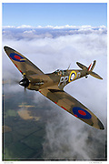 Spitfire, aerial photography