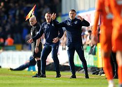 Bristol Rovers manager Graham Coughlan reacts - Mandatory by-line: Nizaam Jones/JMP - 30/03/2019 - FOOTBALL - Memorial Stadium - Bristol, England - Bristol Rovers v Luton Town - Sky Bet League One
