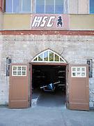 Berlin-Grünau. GERMANY.  HSG Berlin Grünau, Boathouses, Signs Equipment. Frühregatta Saturday 30/04/2011 [Mandatory Credit; Peter Spurrier/Intersport-images]
