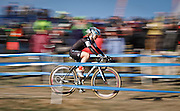 SHOT 1/12/14 2:46:30 PM - Judy Freeman (#37) of Littleton Co. competes in the Women's Elite race at the 2014 USA Cycling Cyclo-Cross National Championships at Valmont Bike Park in Boulder, Co.  (Photo by Marc Piscotty / © 2014)