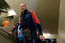 15-09-2019 NED: EC Volleyball 2019 Netherlands - poland, Rotterdam<br /> First round group D / Coach Roberto Piazza of Netherlands