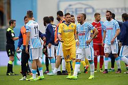 """Foto Filippo Rubin<br /> 26/03/2017 Ferrara (Italia)<br /> Sport Calcio<br /> Spal vs Frosinone - Campionato di calcio Serie B ConTe.it 2016/2017 - Stadio """"Paolo Mazza""""<br /> Nella foto: DELUSIONE SPAL<br /> <br /> Photo Filippo Rubin<br /> March 26, 2017 Ferrara (Italy)<br /> Sport Soccer<br /> Spal vs Frosinone - Italian Football Championship League B ConTe.it 2016/2017 - """"Paolo Mazza"""" Stadium <br /> In the pic: SPAL DISAPPOINTMENT"""
