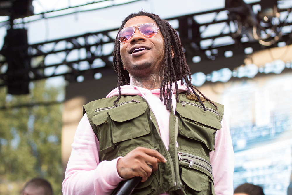 Lil B The Based God performs at Made In America in Philadelphia, PA on September 2, 2018.
