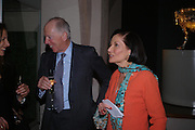 Judith Price and Lord Rothschild. Masterpieces of American Jewelry at the Gilbert Collection. Somerset House. 14 February 2005. ONE TIME USE ONLY - DO NOT ARCHIVE  © Copyright Photograph by Dafydd Jones 66 Stockwell Park Rd. London SW9 0DA Tel 020 7733 0108 www.dafjones.com