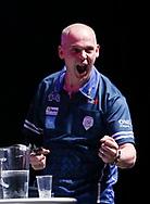 Mario Vandenbogaerde during the BDO World Professional Championships at the O2 Arena, London, United Kingdom on 9 January 2020.