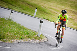Urska Zigart during Slovenian Road Cycling Championship in time trial 2020 on June 28, 2020 in Zg. Gorje - Pokljuka, Slovenia. Photo by Peter Podobnik / Sportida.