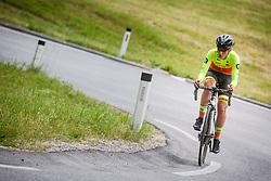 Urska Zigart during Slovenian Road Cycling Championship in time trial 2020 on June 28, 2020 in Zg. Gorje - Pokljuka, Slovenia. Photo by Peter Podobnik / Sportida.