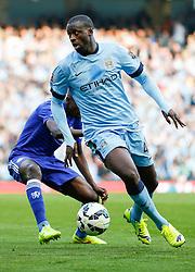 - Photo mandatory by-line: Rogan Thomson/JMP - 07966 386802 - 21/08/2014 - SPORT - FOOTBALL - Manchester, England - Etihad Stadium - Manchester City v Chelsea FC - Barclays Premier League.