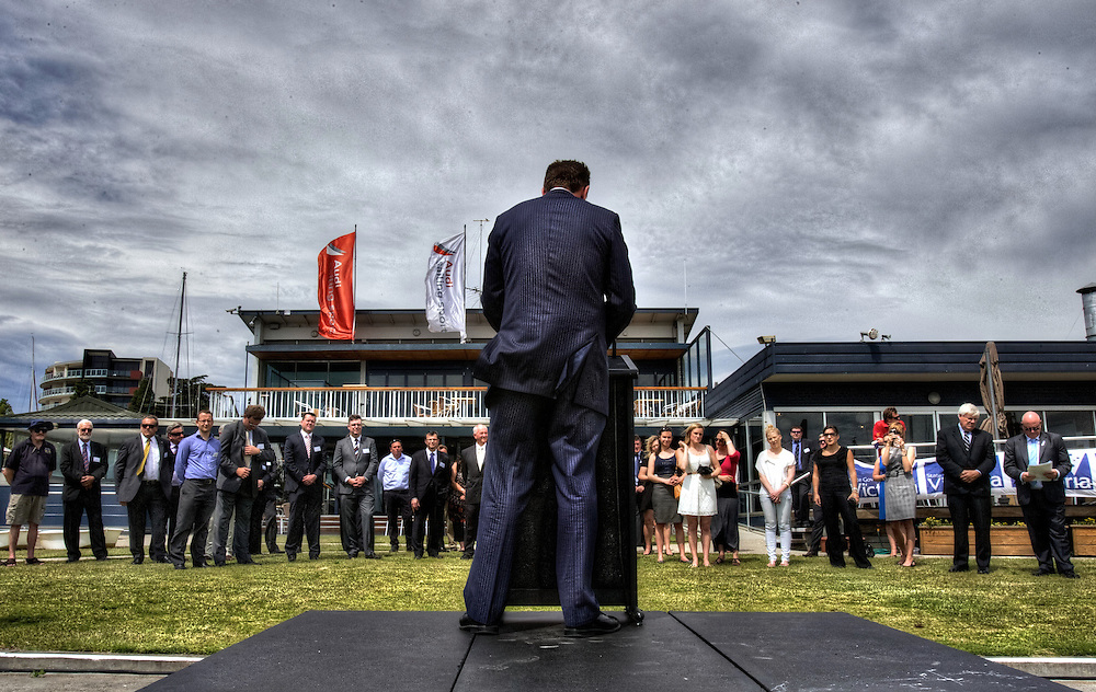 Victorian Premier Ted Baillieu after one year in office. Pic By Craig Sillitoe CSZ/The Sunday Age.18/11/2011 This photograph can be used for non commercial uses with attribution. Credit: Craig Sillitoe Photography / http://www.csillitoe.com<br /> <br /> It is protected under the Creative Commons Attribution-NonCommercial-ShareAlike 4.0 International License. To view a copy of this license, visit http://creativecommons.org/licenses/by-nc-sa/4.0/.