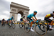 Jakob Fuglsang (DEN - Astana Pro Team) Arc de Triomphe during the 105th Tour de France 2018, Stage 21, Houilles - Paris Champs-Elysees (115 km) on July 29th, 2018 - Photo Luca Bettini / BettiniPhoto / ProSportsImages / DPPI