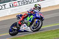 J.Lorenzo / Movistar Yamaha Moto GP during the Octo British Grand Prix at Silverstone, Towcester, United Kingdom on 28 August 2015. Photo by Craig McAllister.