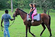 Horse ride for Children in Jamaica