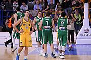DESCRIZIONE : Porto San Giorgio Lega A 2013-14 Sutor Montegranaro Sidigas Avellino<br /> GIOCATORE : team<br /> CATEGORIA : team avellino esultanza<br /> SQUADRA : Sutor Montegranaro Sidigas Avellino<br /> EVENTO : Campionato Lega A 2013-2014<br /> GARA : Sutor Montegranaro Sidigas Avellino<br /> DATA : 04/05/2014<br /> SPORT : Pallacanestro <br /> AUTORE : Agenzia Ciamillo-Castoria/C.De Massis<br /> Galleria : Lega Basket A 2013-2014  <br /> Fotonotizia : Porto San Giorgio Lega A 2013-14 Sutor Montegranaro Sidigas Avellino<br /> Predefinita :
