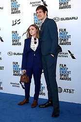 February 23, 2019 - Santa Monica, CA, USA - LOS ANGELES - FEB 23:  Elsie Fisher, Bo Burnham at the 2019 Film Independent Spirit Awards on the Beach on February 23, 2019 in Santa Monica, CA (Credit Image: © Kay Blake/ZUMA Wire)