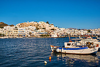 Grece, Cyclades, ile de Naxos, ville de Hora (Naxos) // Greece, Cyclades islands, Naxos, city of Hora (Naxos)