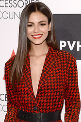 Victoria Justice attends the Accessories Council's 21st Annual celebration of the ACE awards at Cipriani 42nd Street in New York, NY, on August 7, 2017. (Photo by Anthony Behar) *** Please Use Credit from Credit Field ***