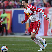Sacha Kljestan, New York Red Bulls, in action during the New York Red Bulls Vs D.C. United Major League Soccer regular season match at Red Bull Arena, Harrison, New Jersey. USA. 22nd March 2015. Photo Tim Clayton