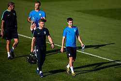 Miha Zajc during practice session of Slovenian national football team in national football center in Brdo, 2nd of September, 2019, NNC Brdo. Photo by Grega Valancic / Sportida