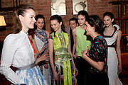 BFC/Vogue Designer Fashion Fund winner Christopher Kane announcement. Almada, 33 Dover Street, London,2 February 2011 -DO NOT ARCHIVE-© Copyright Photograph by Dafydd Jones. 248 Clapham Rd. London SW9 0PZ. Tel 0207 820 0771. www.dafjones.com.