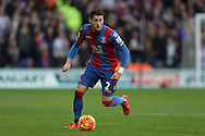 Joel Ward of Crystal Palace in action. Barclays Premier League match, Crystal Palace v Swansea city at Selhurst Park in London on Monday 28th December 2015.<br /> pic by John Patrick Fletcher, Andrew Orchard sports photography.