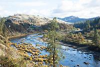 North Umpqua River near Glide, Oregon.