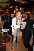 MADDISON MAY BRUDENELL; , Book launch for ' Daughter of Empire - Life as a Mountbatten' by Lady Pamela Hicks. Ralph Lauren, 1 New Bond St. London. 12 November 2012.