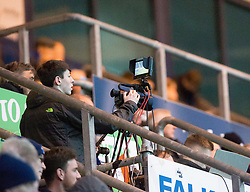 Falkirk TV in action. Falkirk 0 v 1 Morton, Scottish Championship game played 18/3/2017 at The Falkirk Stadium.
