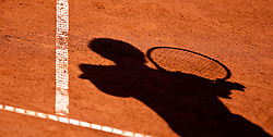 04.08.2010, Sportpark, Kitzbühel, AUT, ATP Challenger, Austrian Open 2010, im Bild Feature Tennis, Schatten, EXPA Pictures © 2010, PhotoCredit: EXPA/ J. Feichter / SPORTIDA PHOTO AGENCY