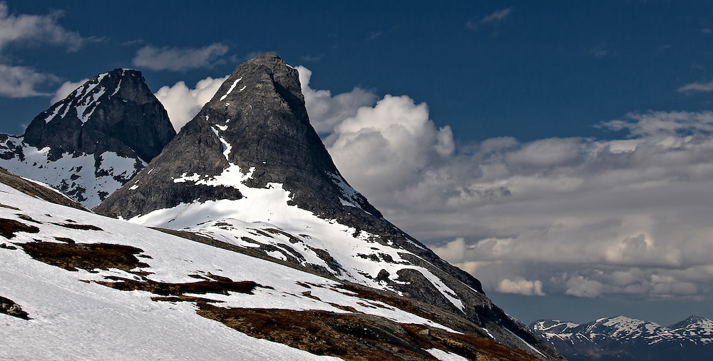 Norway - Kongen & Bispen mountains