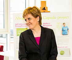 First Minister buries time capsule | Edinburgh | 14 June 2016