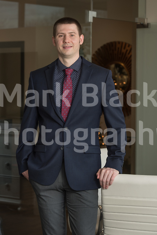 Nicholas Kein, Associate Realtor at Re/Max All Pro in St. Charles on Tuesday, Dec. 15, 2020.  Photo by Mark Black