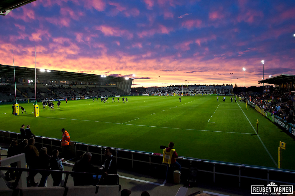 Newcastle Falcons v London Wasps, Ariva Premiership Rugby, Kingston Park Stadium, Newcastle...All Rights Reserved - Reuben Tabner -  Local copyright law applies to all print & online usage. Fees charged will comply with standard space rates and usage for that country, region or state.