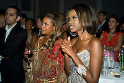 SELINA CHERRY; JUNE SARPONG;;, June Sarpong  celebrates launch of her new political website, PoliticsAndTheCity.com. Institute Of Contemporary Arts (ICA), The Mall, London, SW1 8 July 2008 *** Local Caption *** -DO NOT ARCHIVE-© Copyright Photograph by Dafydd Jones. 248 Clapham Rd. London SW9 0PZ. Tel 0207 820 0771. www.dafjones.com.